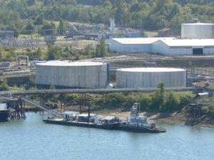 Tanks sprayed in Portland, Or