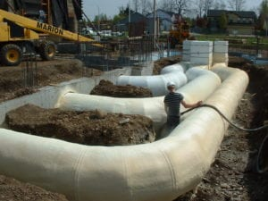 Icyene applied to underground HVAC system Vancouver, WA