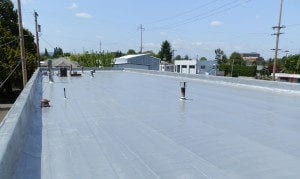 What is a spray foam roof