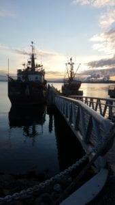 Anacortes, WA sunrise on Fishhold remodel