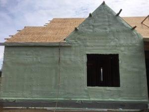 Brush Prairie Demilic HFO spray as continuous wall